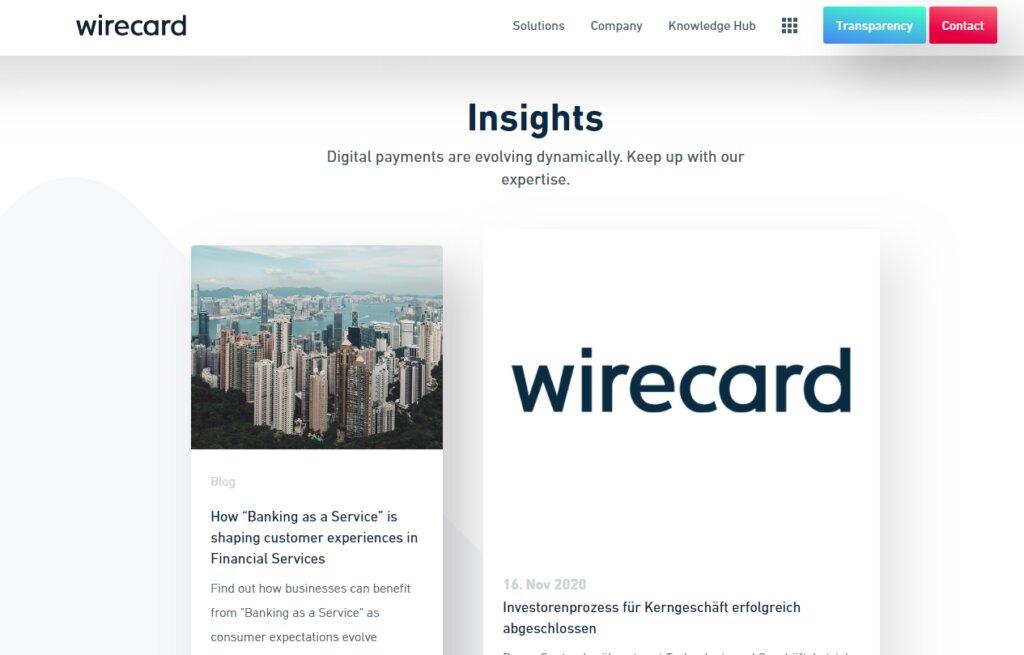 Wirecard Alternative
